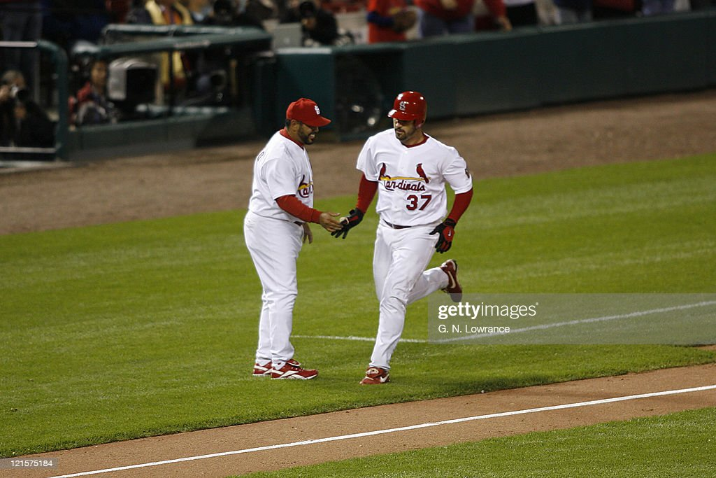 Image result for suppan home run 2006 nlcs
