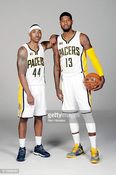¿Cuánto mide Paul George? - Real height Jeff-teague-and-paul-george-of-the-indiana-pacers-pose-for-a-portrait-picture-id610698362?s=612x612