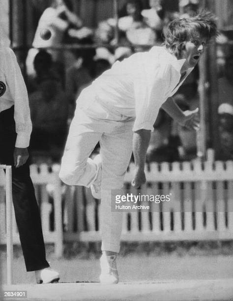 Jeff Thompson the Australian bowler who played for Middlesex Original Publication People Disc HM0247