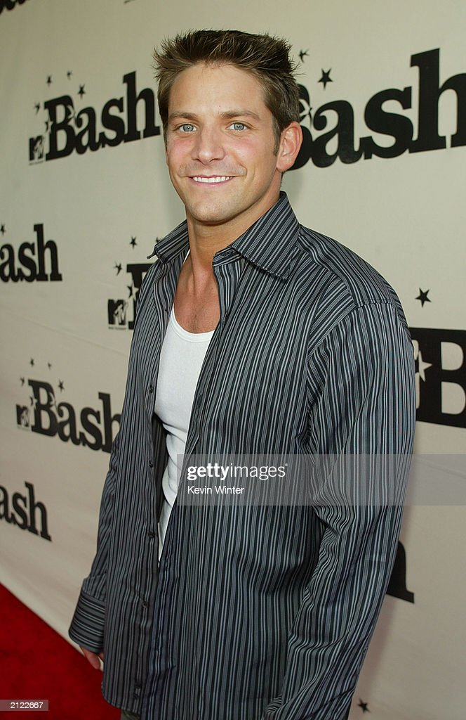 Jeff Timmons of 98 Degrees attends MTV's Bash at the Hollywood Palladium on June 28, 2003 in Hollywood, California.