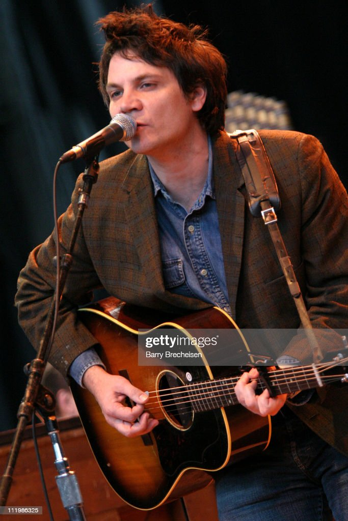 Jeff Tweedy of Wilco during 17th Annual Bridge School Benefit Concert - Day One at Shoreline Amphitheatre in Mountain View, California, United States.