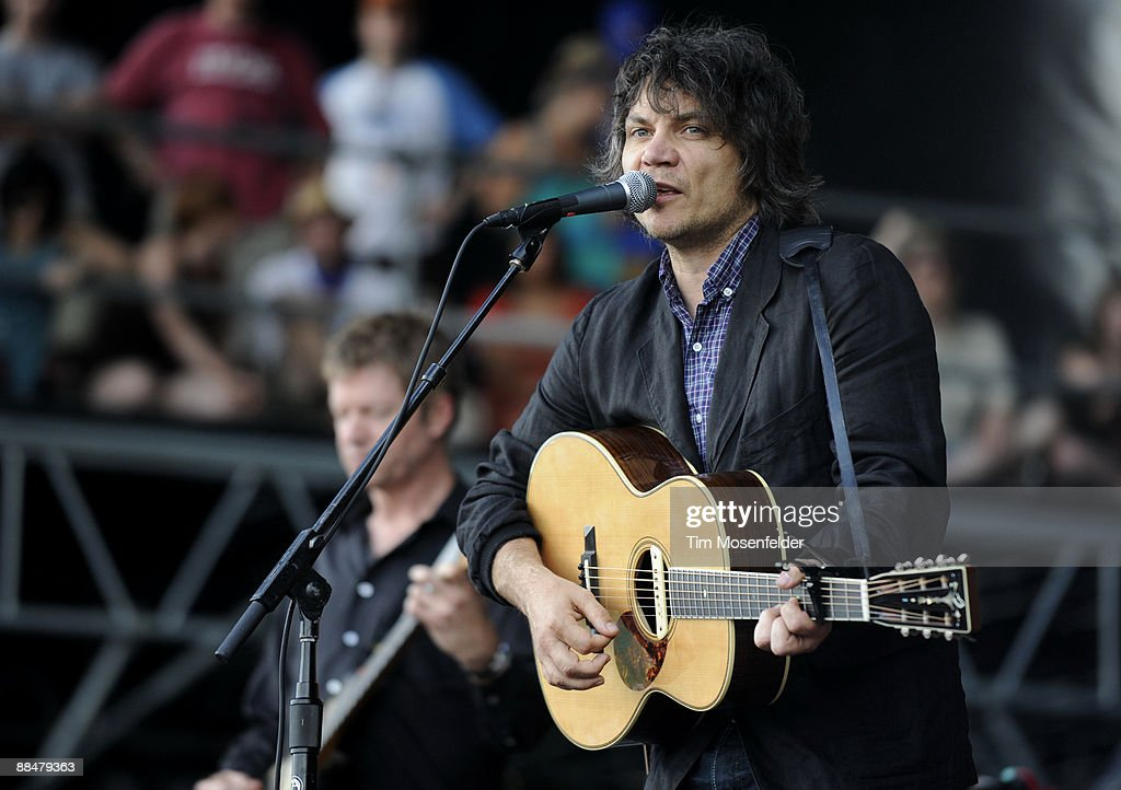 Jeff Tweedy of Wilco performs as part of Day Three of the 2009 Bonnaroo Music and Arts Festival on June 13, 2009 in Manchester, Tennessee.