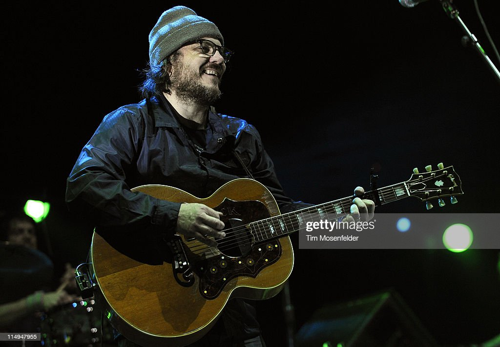 Jeff Tweedy of Wilco performs as part of the Sasquatch! Music Festival 2011 Day 4 at the Gorge Amphitheatre on May 30, 2011 in George, Washington.