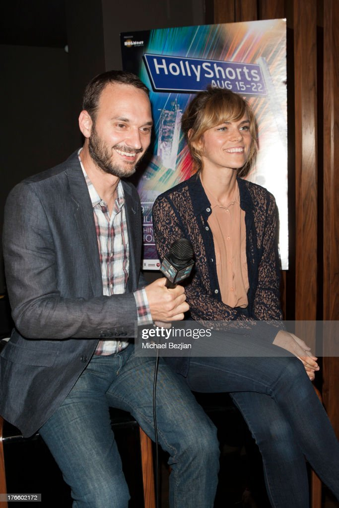 <a gi-track='captionPersonalityLinkClicked' href=/galleries/search?phrase=Jeff+Vespa&family=editorial&specificpeople=4349931 ng-click='$event.stopPropagation()'>Jeff Vespa</a> and Alex Prager attend 9th Annual HollyShorts Film Festival - Private Pre-Reception at Hollywood Roosevelt Hotel on August 15, 2013 in Hollywood, California.