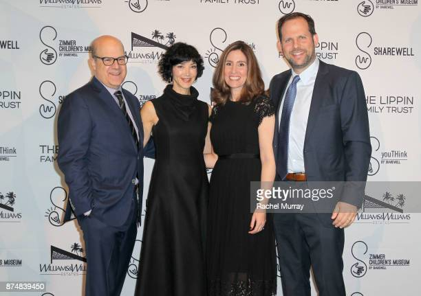 Jeff Wachtel President Chief Content Offficer NBCUniversal Cable Entertainment Sheryl Wachtel Honoree Carolyn Bernstein the Executive VP Head of...