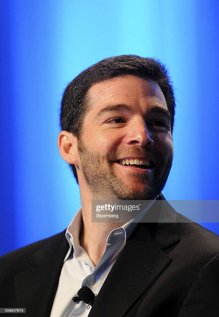 Jeff Weiner, chief executive officer of LinkedIn Corp., speaks at the TechCrunch Disrupt conference in San Francisco, California, U.S., on Wednesday, Sept. 29, 2010. The conference concludes today. Photographer: Noah Berger/Bloomberg via Getty Images