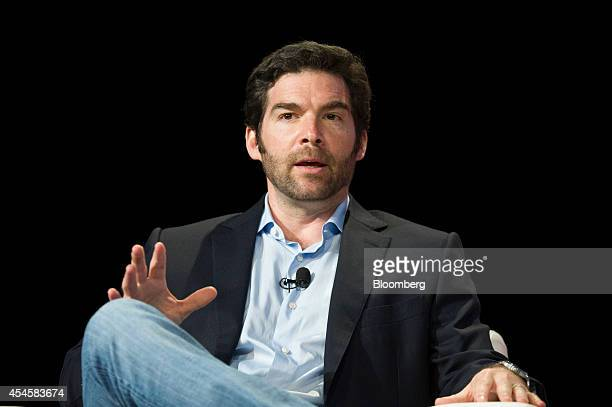 Jeff Weiner chief executive officer of LinkedIn Corp speaks during the BoxWorks 'How Tomorrow Works' event in San Francisco California US on...