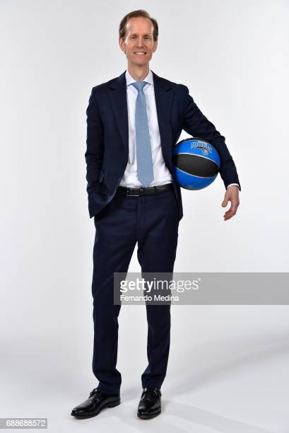 Jeff Weltman poses for a photo during a press conference on May 24 2017 at Amway Center in Orlando Florida NOTE TO USER User expressly acknowledges...