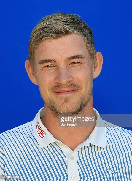 Jeff Winther of Denmark during the first round of the European Tour qualifying school final stage at PGA Catalunya Resort on November 12 2016 in...