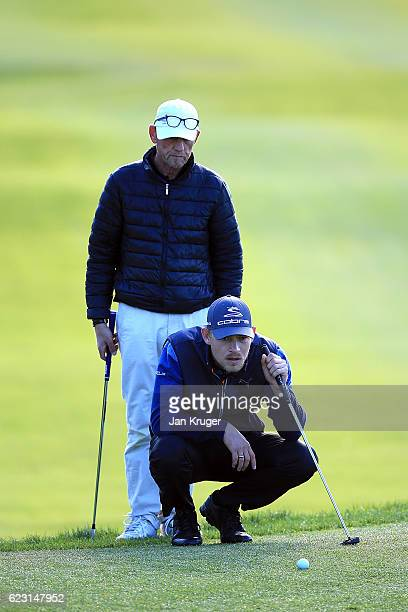 Jeff Winther of Denmark during the third round of the European Tour qualifying school final stage at PGA Catalunya Resort on November 14 2016 in...