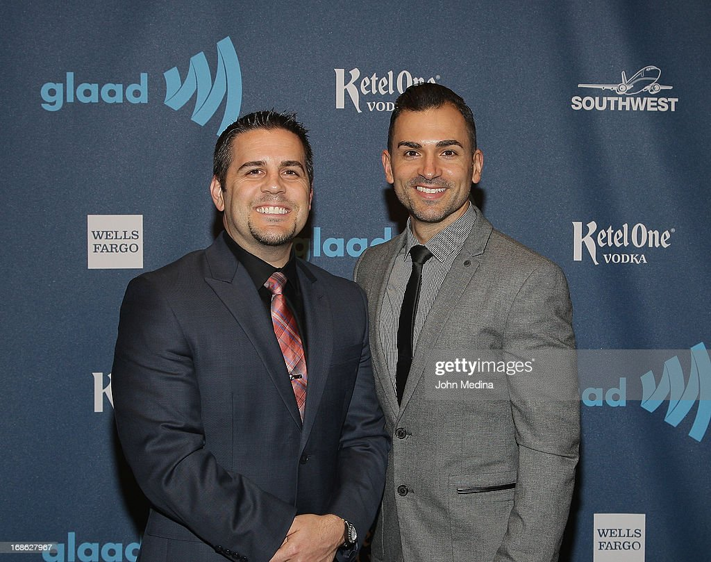 Jeff Zarrillo and Paul Katami attend the 24th Annual GLAAD Media Awards at the Hilton San Francisco - Union Square on May 11, 2013 in San Francisco, California.