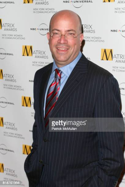 Jeff Zucker attends New York WOMEN IN COMMUNICATIONS Presents The 2010 MATRIX AWARDS at Waldorf Astoria on April 19 2010 in New York City