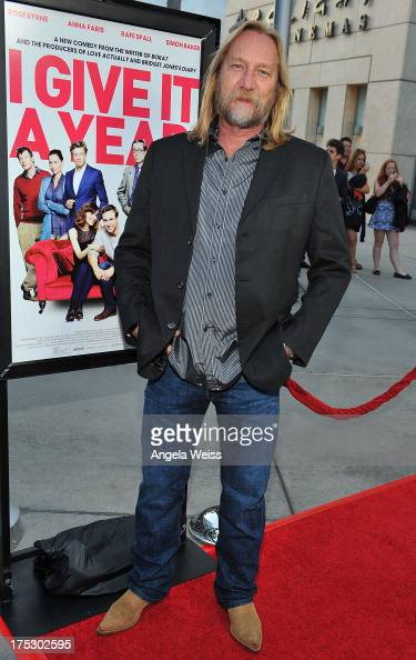 Jefferey Petterson arrives at the Screening of Magnolia Pictures' 'I Give It A Year' at ArcLight Hollywood on August 1 2013 in Hollywood California