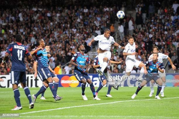 Jefferson Farfan Lyon / Schalke 04 1er journee de Ligue des Champions