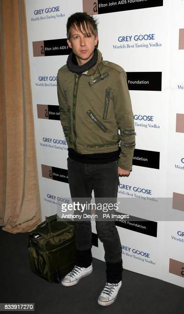 Jefferson Hack arrives at the Grey Goose Vodka and The Elton John AIDS Foundation VIP launch party One Piazza Covent Garden London