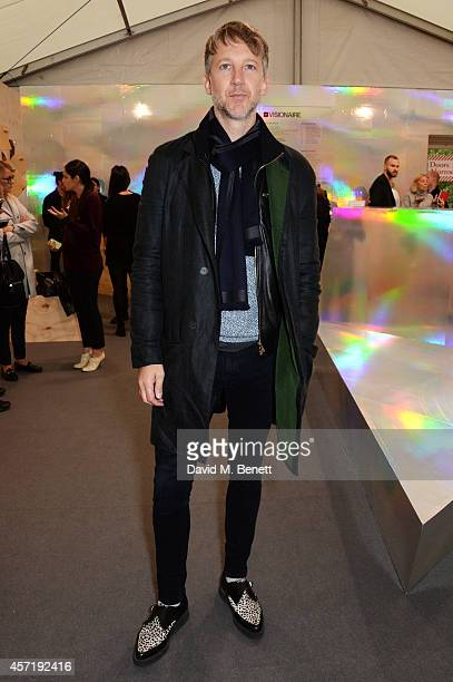 Jefferson Hack attends as Gap launch the Gap Lounge at Frieze London showcasing the Gap X Visionaire collaboration ART Collection at Regent's Park on...