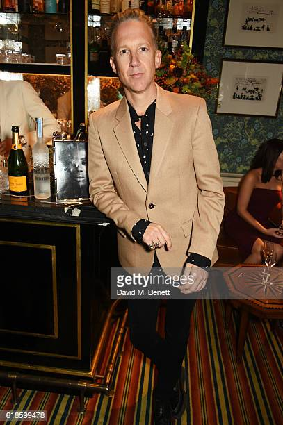 Jefferson Hack attends Edward Enninful's OBE dinner at Mark's Club on October 27 2016 in London England