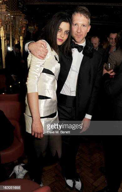 Jefferson Hack attends the AnOther Magazine and Dazed Confused party with Belvedere Vodka at the Cafe Royal hotel on February 18 2013 in London...
