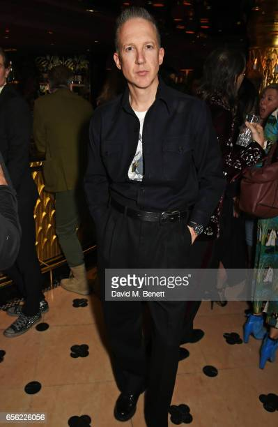 Jefferson Hack attends the Another Man Spring/Summer Issue launch dinner in association with Kronaby at Park Chinois on March 21 2017 in London...
