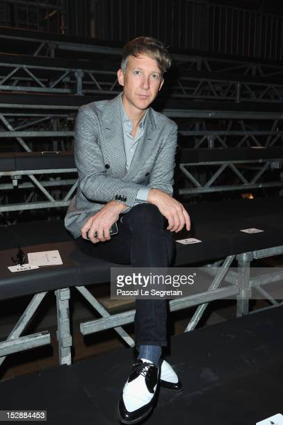 Jefferson Hack attends the Lanvin Spring / Summer 2013 show as part of Paris Fashion Week at on September 27 2012 in Paris France