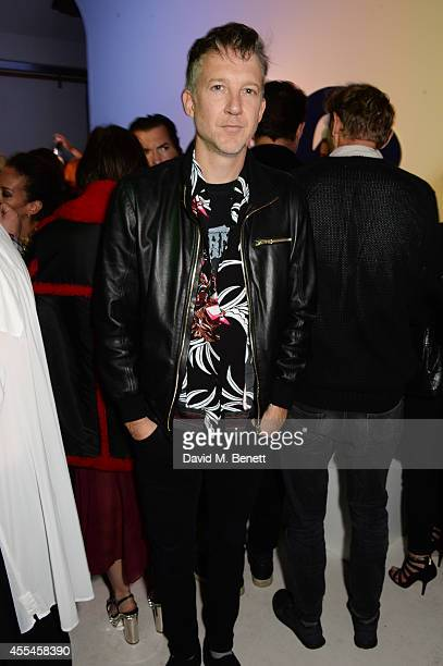 Jefferson Hack attends the MAC x Dazed x Miles Aldridge party at White Rabbit on September 14 2014 in London England