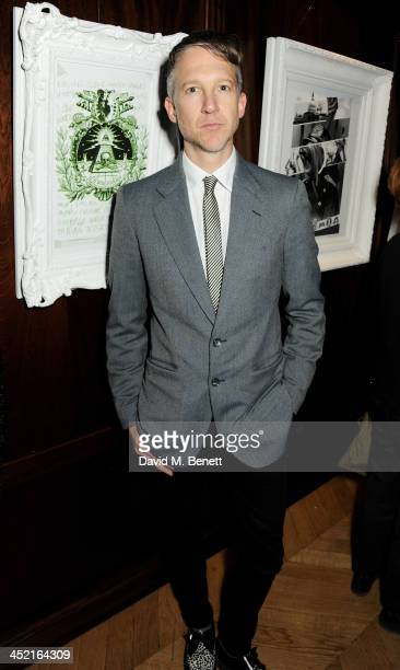 Jefferson Hack attends the Project Zoltar 10th anniversary celebration and launch of Zoltar the Magnificent at The Groucho Club on November 26 2013...
