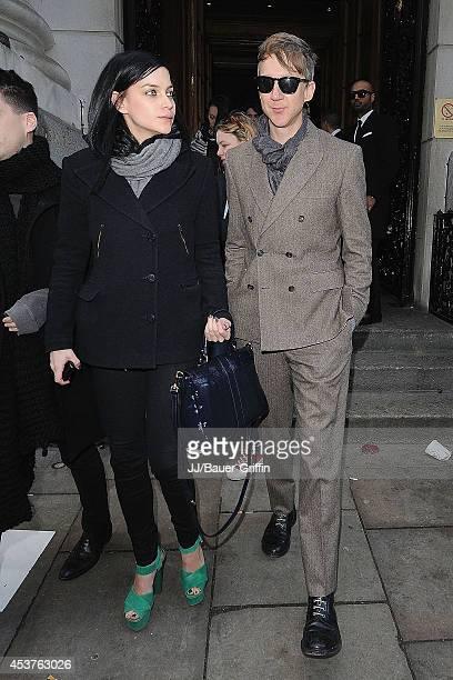 Jefferson Hack is seen on February 20 2012 in London United Kingdom
