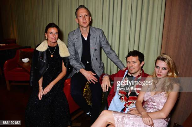 Jefferson Hack Robert Montgomery and Greta Bellamacina attend '8 Years Of My Life' an intimate evening of music with Rosey Chan hosted by Rosey Chan...