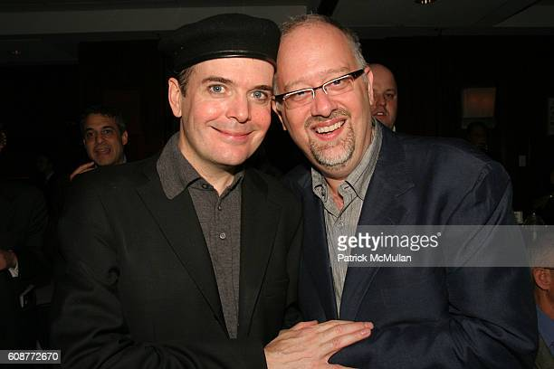 Jefferson Mays and Doug Wright attend Opening Night of PYGMALION at American Airlines Theatre on October 18 2007 in New York City