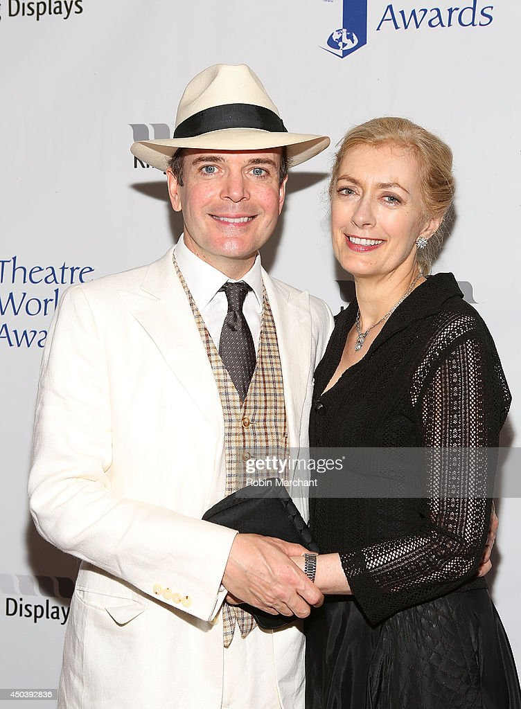 <a gi-track='captionPersonalityLinkClicked' href=/galleries/search?phrase=Jefferson+Mays&family=editorial&specificpeople=211336 ng-click='$event.stopPropagation()'>Jefferson Mays</a> and Susan Lyons attend the 2014 Theatre World Awards ceremony at Circle in the Square on June 2, 2014 in New York City.