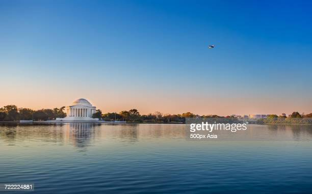 Jefferson Memorial by Potomak River, Washington, United States