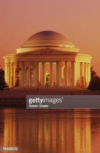Jefferson Memorial, Washington, D.C. : Foto de stock