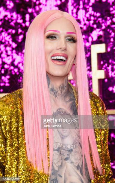 Jeffree Star attends the 3rd Annual RuPaul's DragCon at Los Angeles Convention Center on April 29 2017 in Los Angeles California