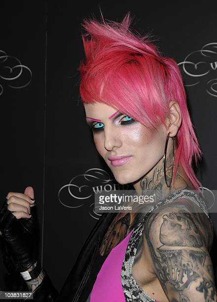 Jeffree Star attends the opening of Wonderland Gallery on September 2 2010 in West Hollywood California