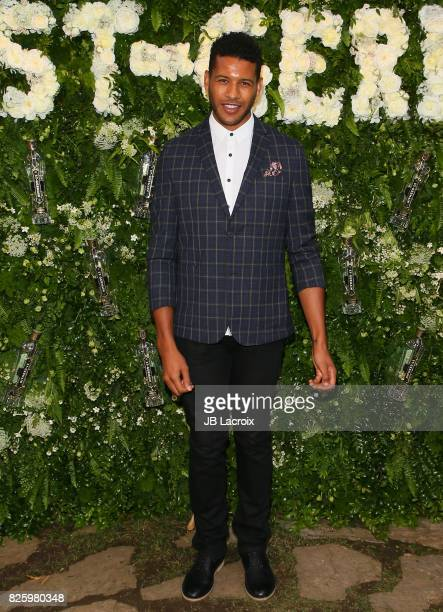 Jeffrey BowyerChapman attends the Maison StGermain LA Debut hosted by Lily Kwong on August 02 2017 in Los Angeles California