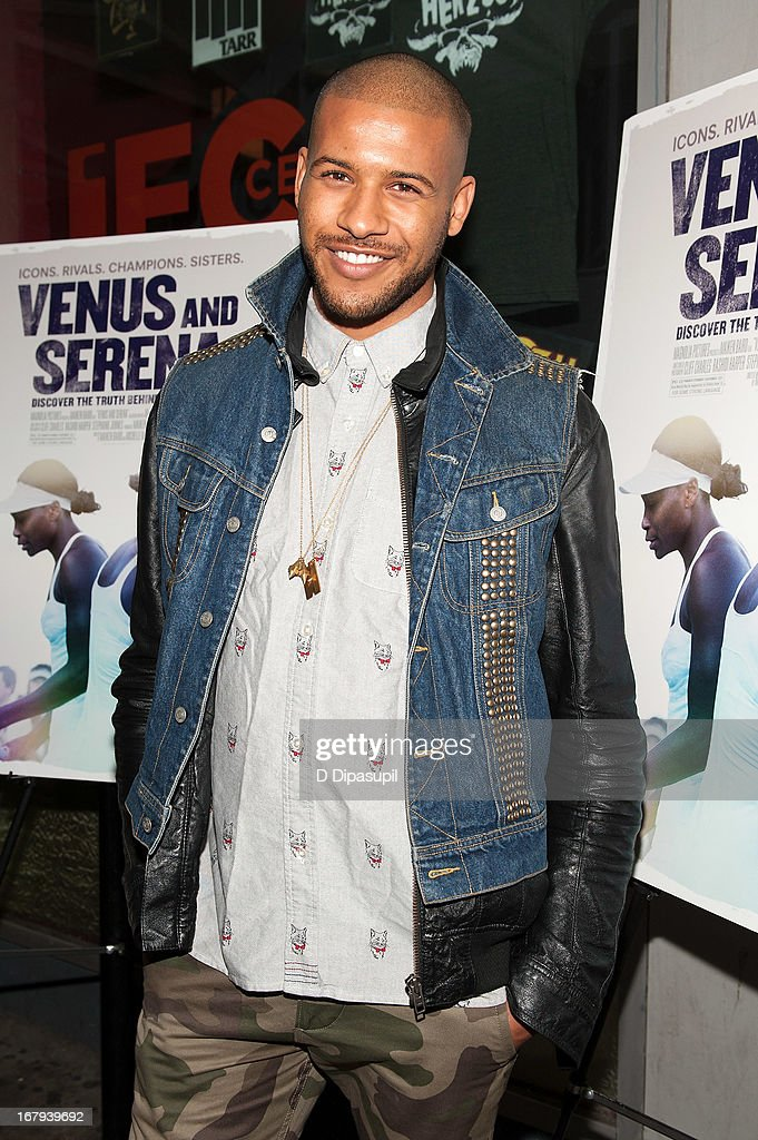 Jeffrey Bowyer-Chapman attends the 'Venus And Serena' screening at IFC Center on May 2, 2013 in New York City.