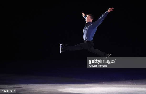 Jeffrey Buttle of Canada performs his routine during THE ICE 2014 at the White Ring on July 19 2014 in Nagano Japan