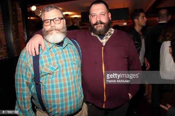Jeffrey Costello and Robert Tagliapietra attend Stylecom 10th Anniversary Celebration at Private Residence on September 14 2010 in New York