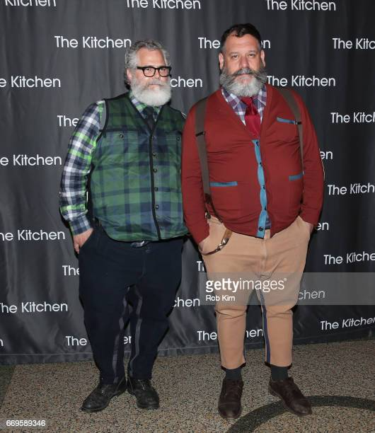 Jeffrey Costello and Robert Tagliapietra attend The Kitchen's Spring Gala 2017 at Hammerstein Ballroom on April 17 2017 in New York City