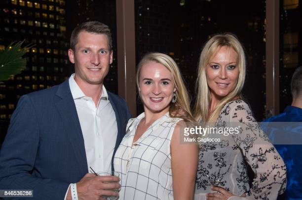 Jeffrey Costikyan Laura Newell and Griselda Lechini attend Hamptons Magazine's Celebration with Cover Star Maria Sharapova at PHD Terrace at Dream...