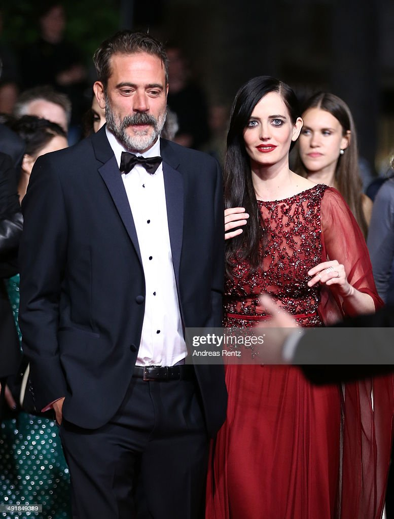 <a gi-track='captionPersonalityLinkClicked' href=/galleries/search?phrase=Jeffrey+Dean+Morgan&family=editorial&specificpeople=2518614 ng-click='$event.stopPropagation()'>Jeffrey Dean Morgan</a> and actress <a gi-track='captionPersonalityLinkClicked' href=/galleries/search?phrase=Eva+Green&family=editorial&specificpeople=211151 ng-click='$event.stopPropagation()'>Eva Green</a> attend the 'The Salvation' premiere during the 67th Annual Cannes Film Festival on May 17, 2014 in Cannes, France.