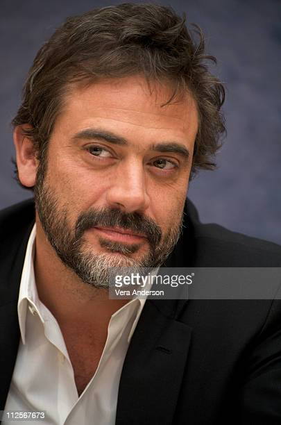 Jeffrey Dean Morgan at the 'Watchmen' press conference at the Beverly Hilton Hotel on February 19 2009 in Beverly Hills California