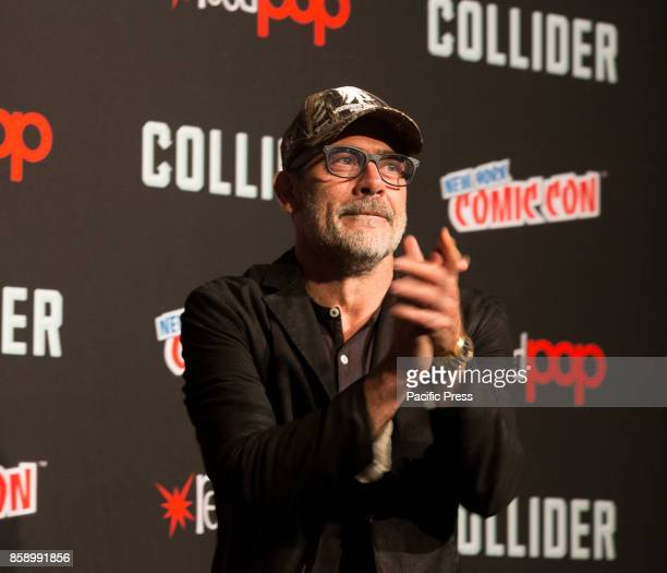 Jeffrey Dean Morgan attends The Walking Dead panel at The Theater at Madison Square Garden during Comic Con 2017