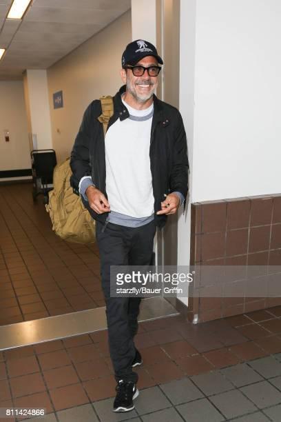 Jeffrey Dean Morgan is seen at LAX on July 09 2017 in Los Angeles California