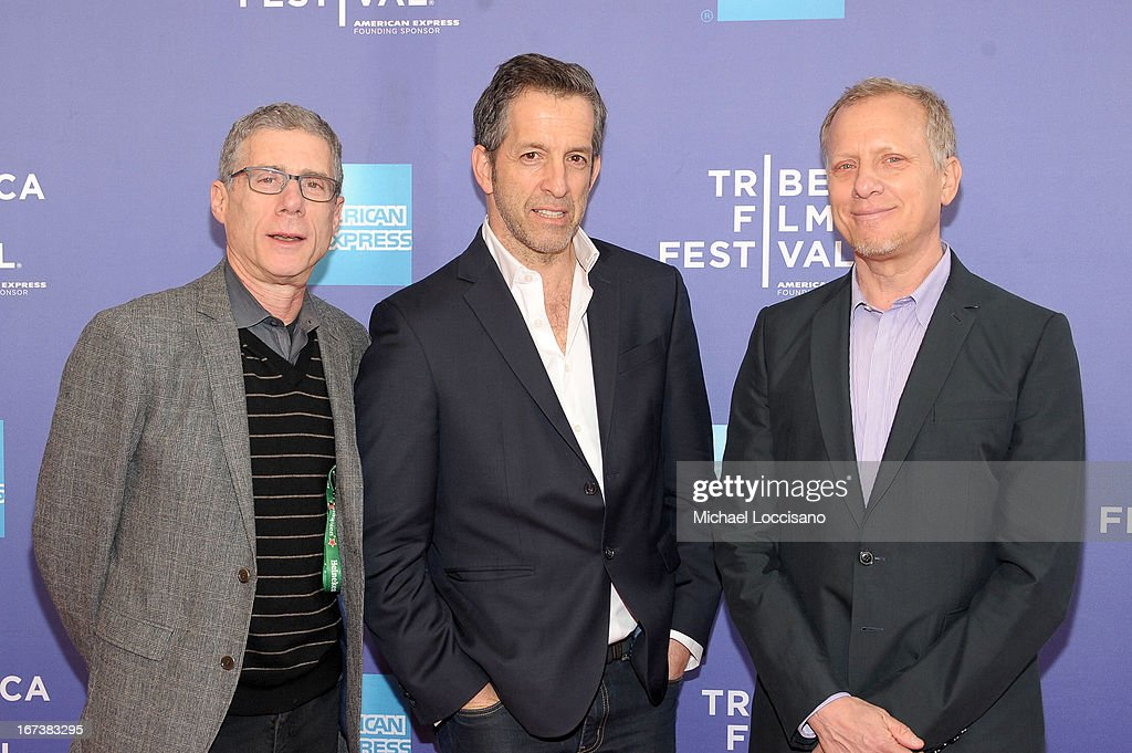 Jeffrey Friedman, designer Kenneth Cole and Rob Epstein attend HBO's 'The Battle of amFAR' premiere at Tribeca Film Festival on April 24, 2013 in New York City.