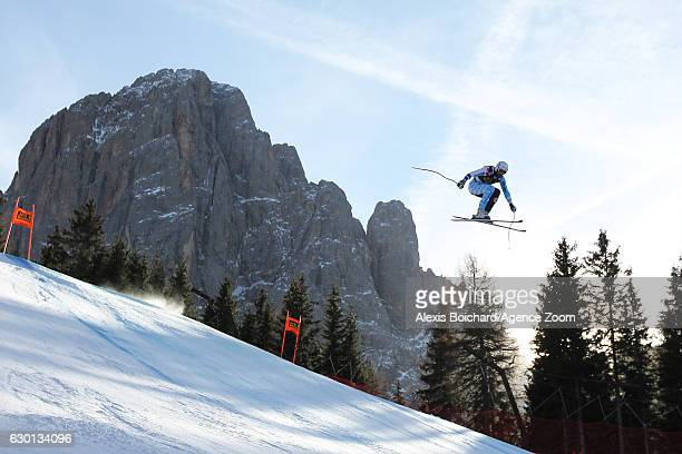 Jeffrey Frisch of Canada competes during the Audi FIS Alpine Ski World Cup Men's Downhill on December 17 2016 in Val Gardena Italy