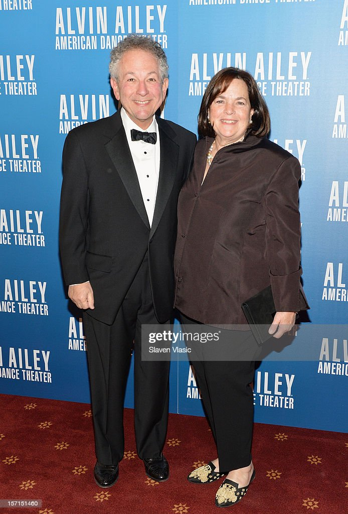 Jeffrey Garten and wife Ina Garten attend the Alvin Ailey American Dance Theater Opening Night Gala at New York City Center on November 28, 2012 in New York City.