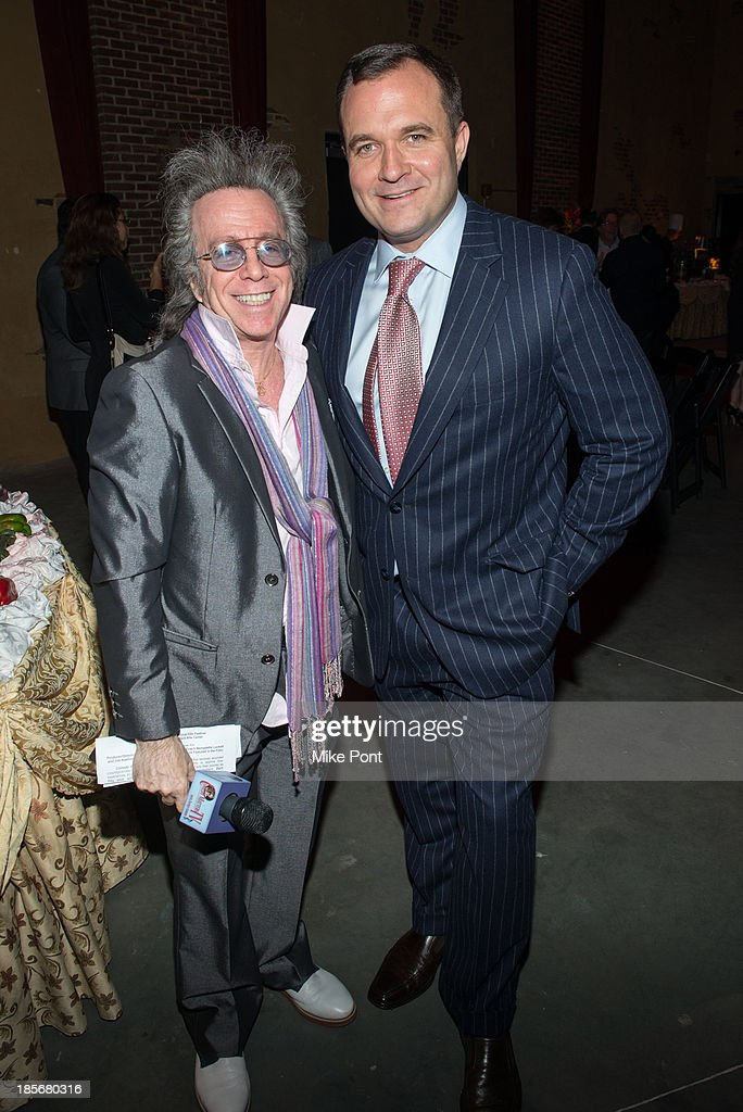 Jeffrey Gurian and Journalist Greg Kelly attend the annual benefit gala during the Third Annual Gold Coast International Film Festival at on October 23, 2013 in Port Washington, New York.