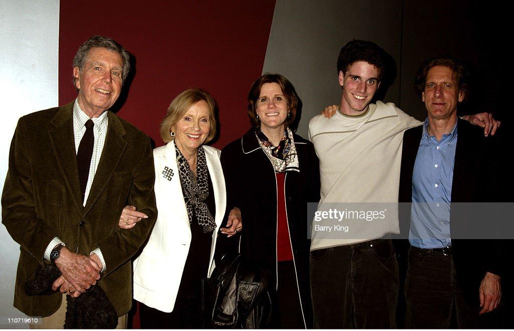 Jeffrey Hayden, Eva Marie Saint, daughter Laurette Hayden, grandson Eli Beller and Miles Beller