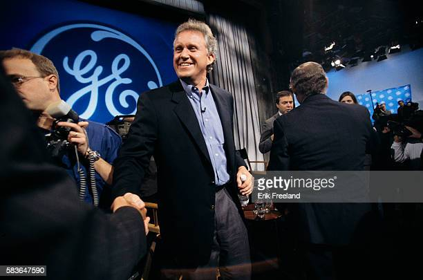 Jeffrey Immelt executive at General Electric Corporation attends a press conference in New York He is announcing that he will succeed John 'Jack'...